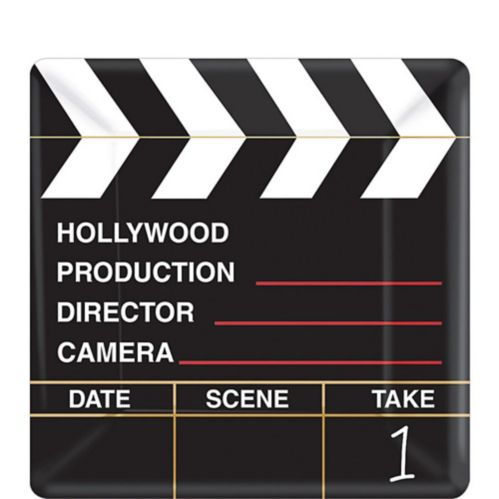 Clapboard Hollywood Dessert Plates, 18-pk Product image