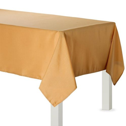 Fabric Tablecloth, Gold