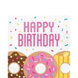 Donut Time Birthday Napkins, 16-pk