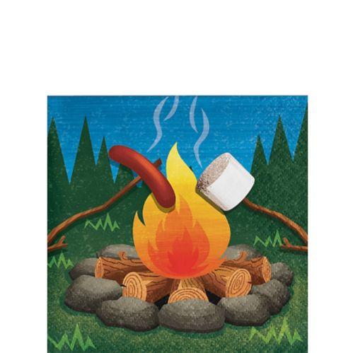 Serviettes à boissons Camping, paq. 16