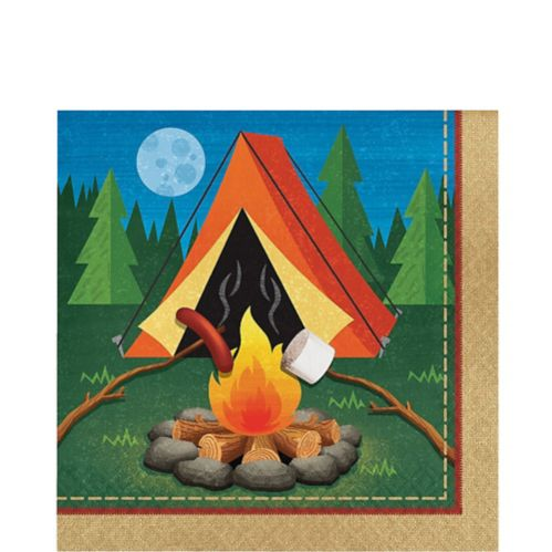Camping Lunch Napkins, 16-pk
