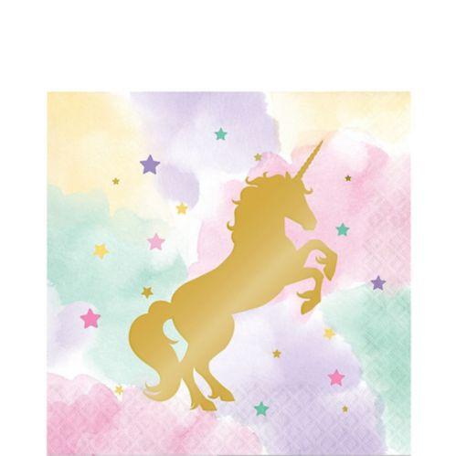 Sparkle Unicorn Napkins, 16-pk
