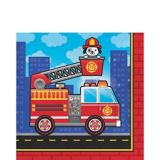 Fire Truck Lunch Napkins, 16-pk