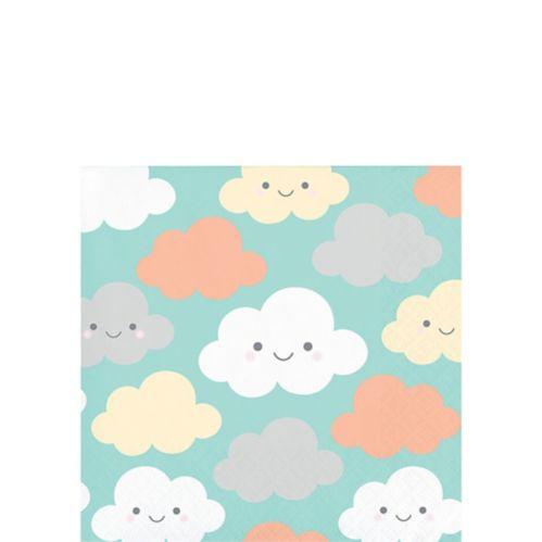 Happy Clouds Beverage Napkins, 16-pk