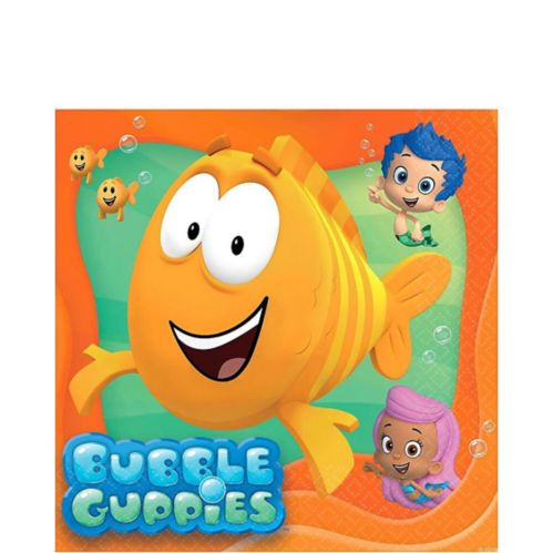 Serviettes de table Bubble Guppies, paq. 16