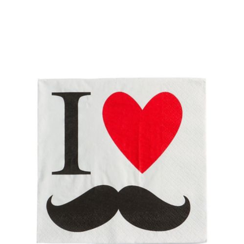 Serviettes pour boissons, Moustache