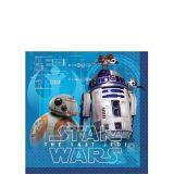 Star Wars 8: The Last Jedi Beverage Napkins, 16-pk