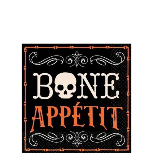 Serviettes à boissons Bone Appetit, paq. 16