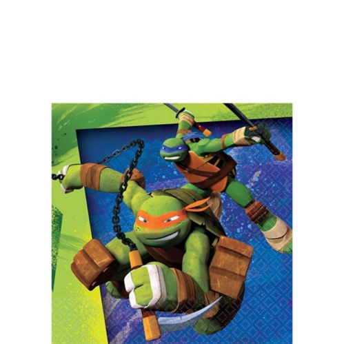 Teenage Mutant Ninja Turtles Beverage Napkins, 16-pk