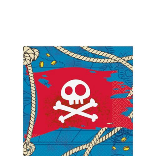 Jake the Pirate Beverage Napkins, 16-pk