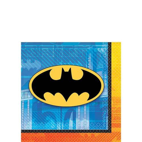 Serviettes à boissons Batman, paq. 16