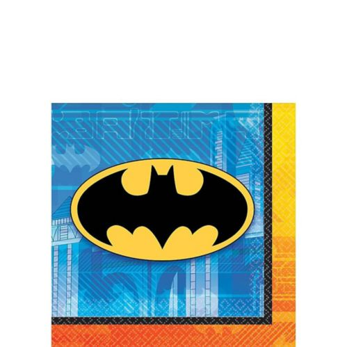Batman Beverage Napkins, 16-pk