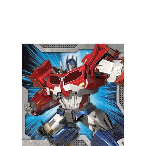 Transformers Beverage Napkins, 16-pk
