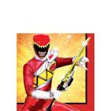 Power Rangers Dino Charge Napkins, 16-pk