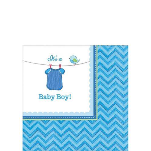 It's a Boy Baby Shower Beverage Napkins, 16-pk
