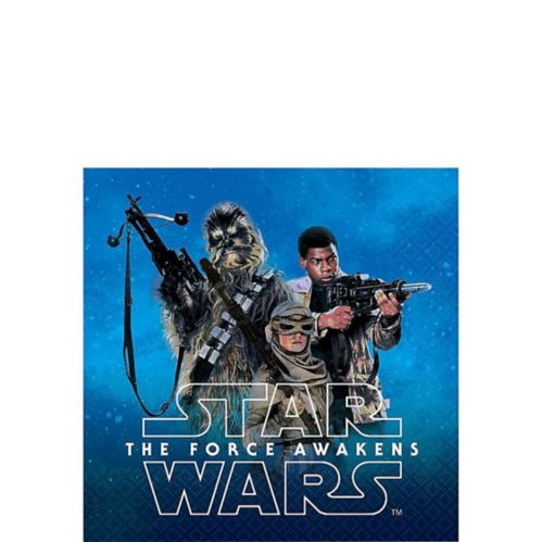 Star Wars 7 The Force Awakens Beverage Napkins, 16-pk