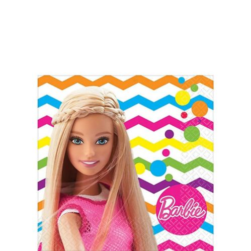 Barbie Beverage Napkins, 16-pk