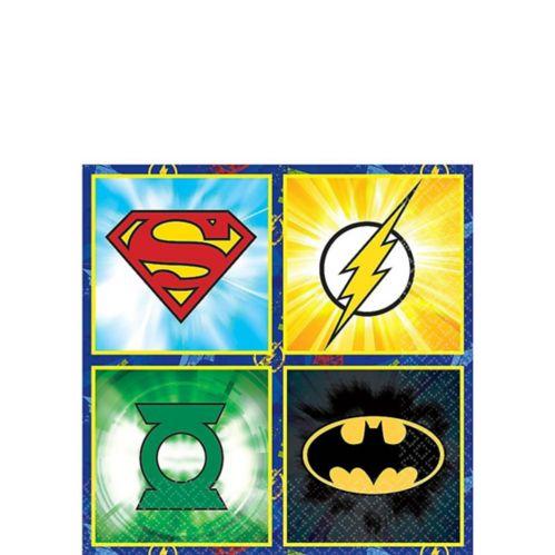 Justice League Beverage Napkins 16-pk