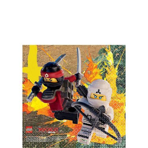 The Lego Ninjago Movie Beverage Napkins, 16-pk
