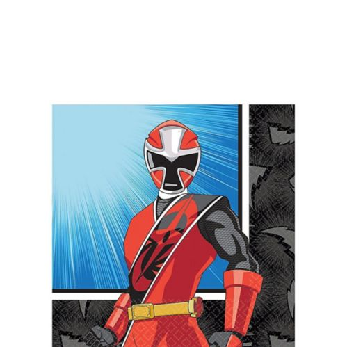 Power Rangers Ninja Steel Beverage Napkins, 16-pk