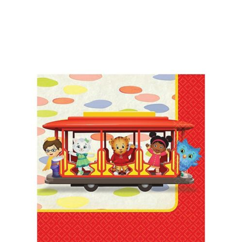 Daniel Tiger's Neighborhood Beverage Napkins, 16-pk