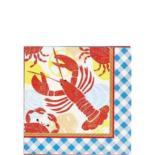 Seafood Fest Beverage Napkins, 16-pk