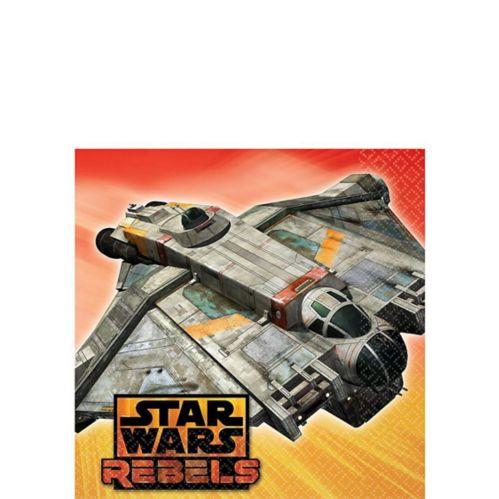 Serviettes de table Star Wars Rebelles, paq. 16