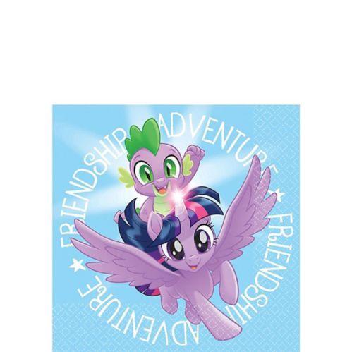 My Little Pony Friendship Adventure Beverage Napkins, 16-pk