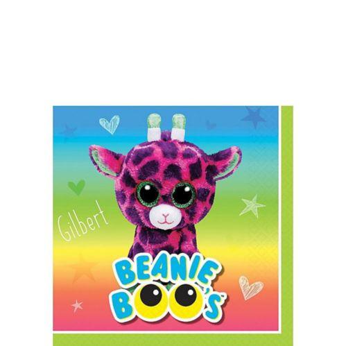 Beanie Boo's Beverage Napkins, 16-pk