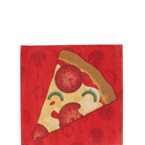 Pizza Party Beverage Napkins, 16-pk
