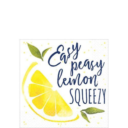 Serviettes à boisson Lemon Squeezy, paq. 16