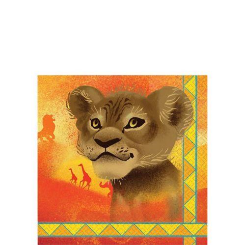 Serviettes à boisson Le Roi Lion, paq. 16 Image de l'article