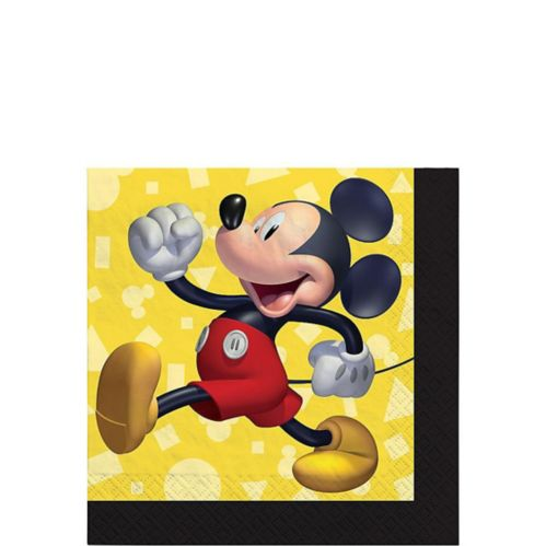 Mickey Mouse Forever Beverage Napkins, 16-pk