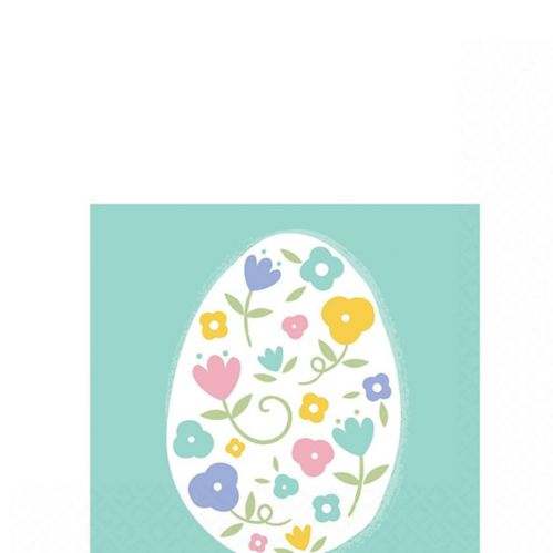 Pretty Pastel Easter Beverage Napkins, 16-pk Product image