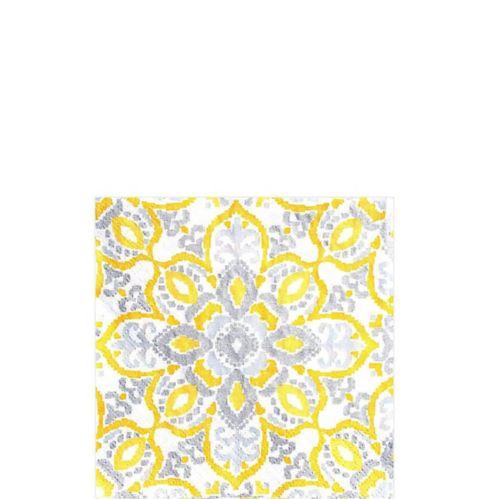 Yellow Tile Beverage Napkins, 16-pk Product image