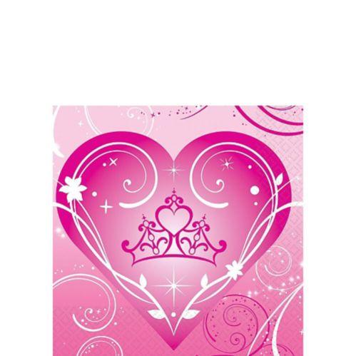 Serviettes pour boissons Princesse étincelante, paq. 16 Image de l'article