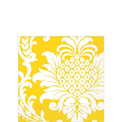 Damask Beverage Napkins Product image