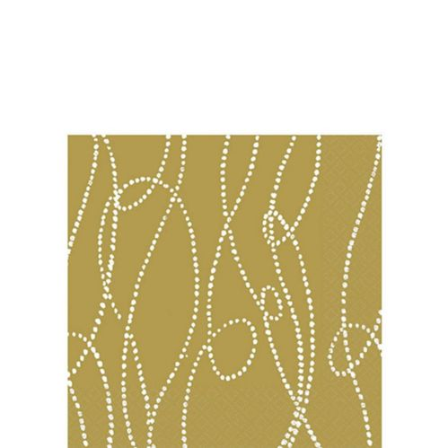 Gold Striped Napkin Product image