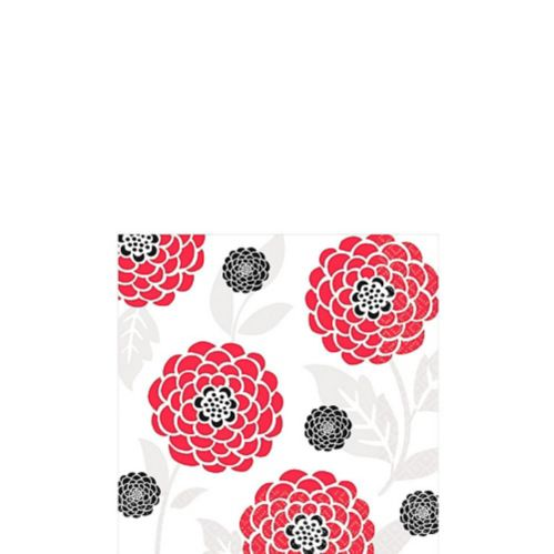 Red Tossed Napkins Product image