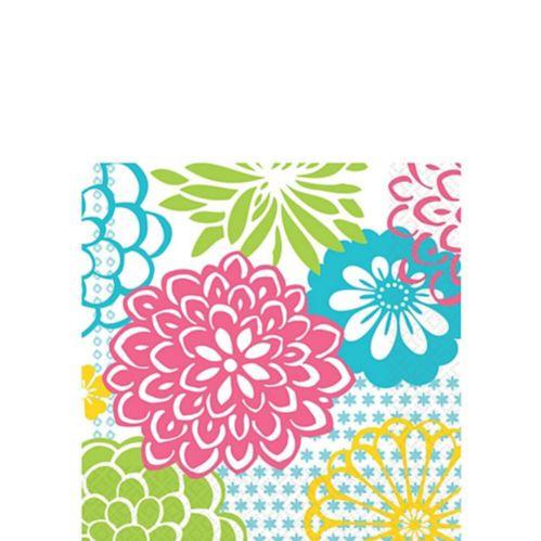 Kiwi Floral Fireworks Napkins Product image