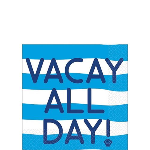Vacay All Day Beverage Napkins, 16-pk Product image