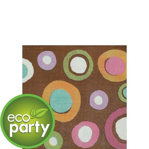 Cocoa Dots Beverage Napkins