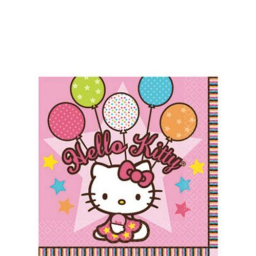 Serviettes à boissons Hello Kitty, paq. 16