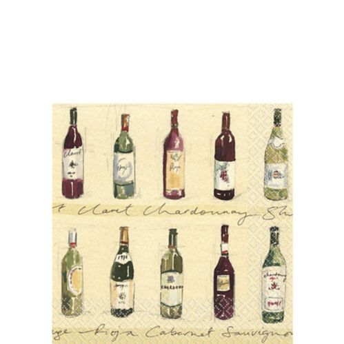 Vineyard Beverage Napkins, 16-pk