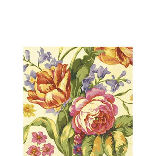 Pretty Bouquet Beverage Napkins, 16-pk Product image