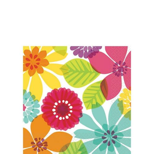Day in Paradise Beverage Napkins, 16-pk