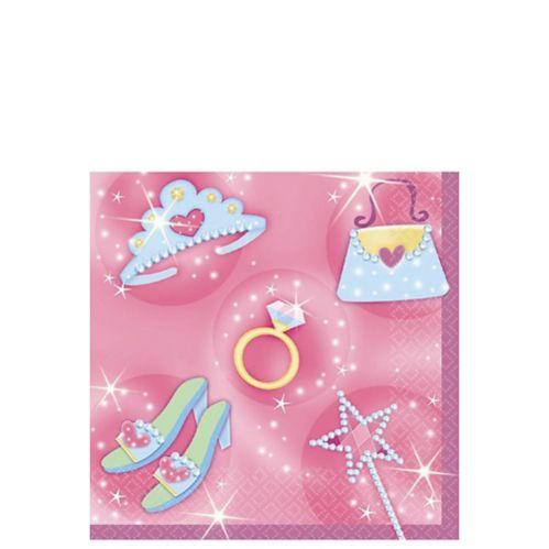 Serviettes pour boissons Princesse, paq. 16