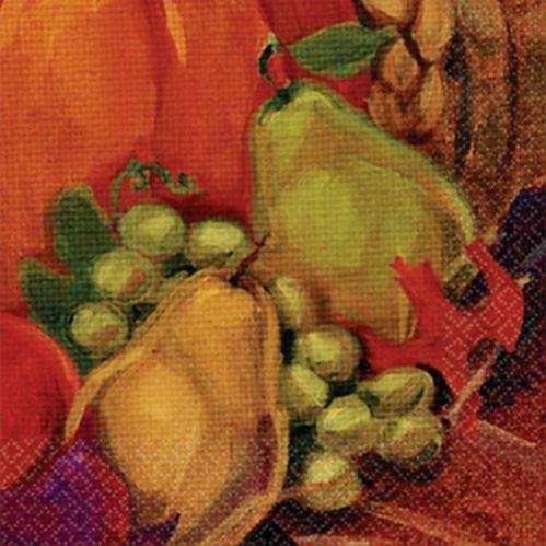 Serviettes pour boissons Harvest Still Life, paq. 16