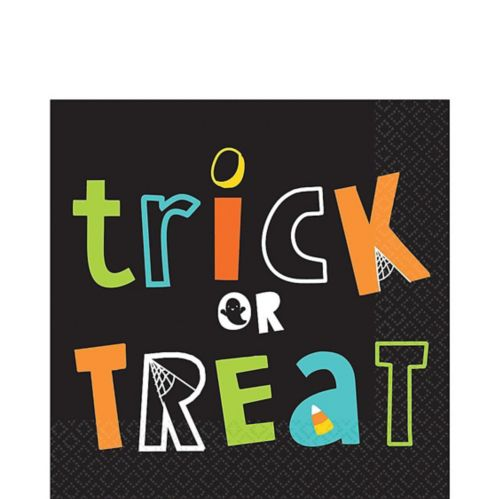 Trick-or-Treat Lunch Napkins, 16-pk