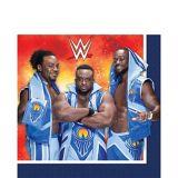Serviettes de table WWE, paq. 16 | Amscannull